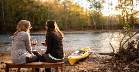 Abingdon Vineyards with Kayak