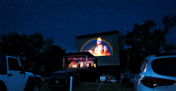 Photomerge 2 OZ Moonlite Drive In Barter Theatre