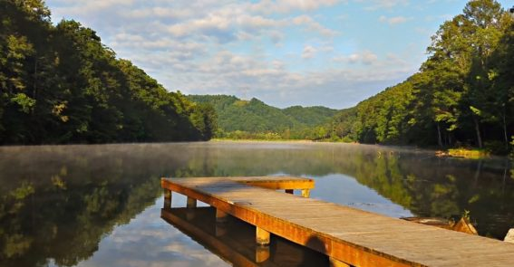 Hungry Mother Lake - credit Virginia State Parks