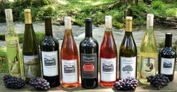 Abingdon vineyards Wines