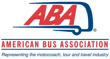 American Bus Association logo: Representing the motorcoach, tour and travel industry