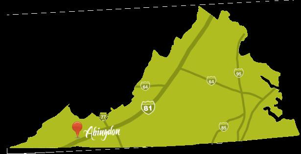 Abingdon Virginia Map.Abingdon Virginia Homepage