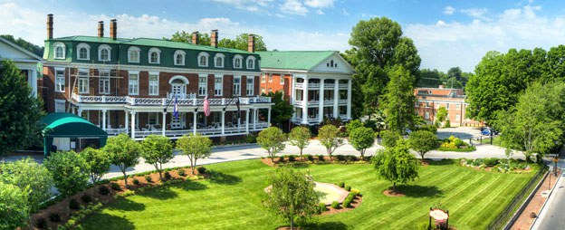 Relax at the majestic Martha Washington Hotel and Spa