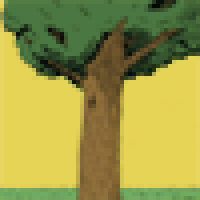 Tree character icon