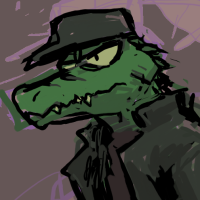 Croco character icon