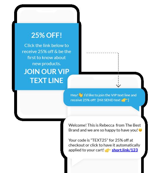 Inbound Text SMS Link