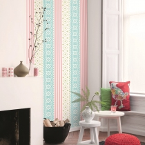 Traditional Floral Wallpaper R1029 Room 01