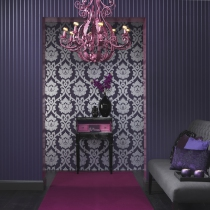 Damask Design Wallpaper R1042 Room 01