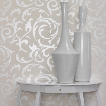 Fashionable Damask Pattern Wallpaper R1068 Room 01