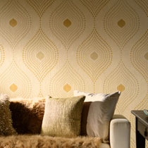 Geometric Design Home Wallpaper R1861