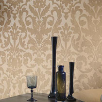 Damask Pattern Home Wallpaper R1867