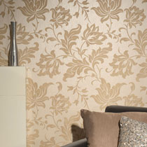 Modern Floral Wallpaper R1871