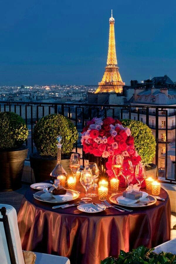 ''An Evening in Paris'' Fine dine and all things shine