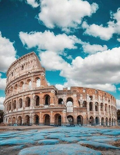 Colosseum - the most Instagramed place in Italy.