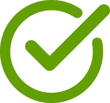 first green checkmark