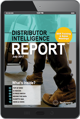 Distributor Intelligence Report