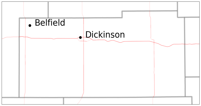 Stark County Map