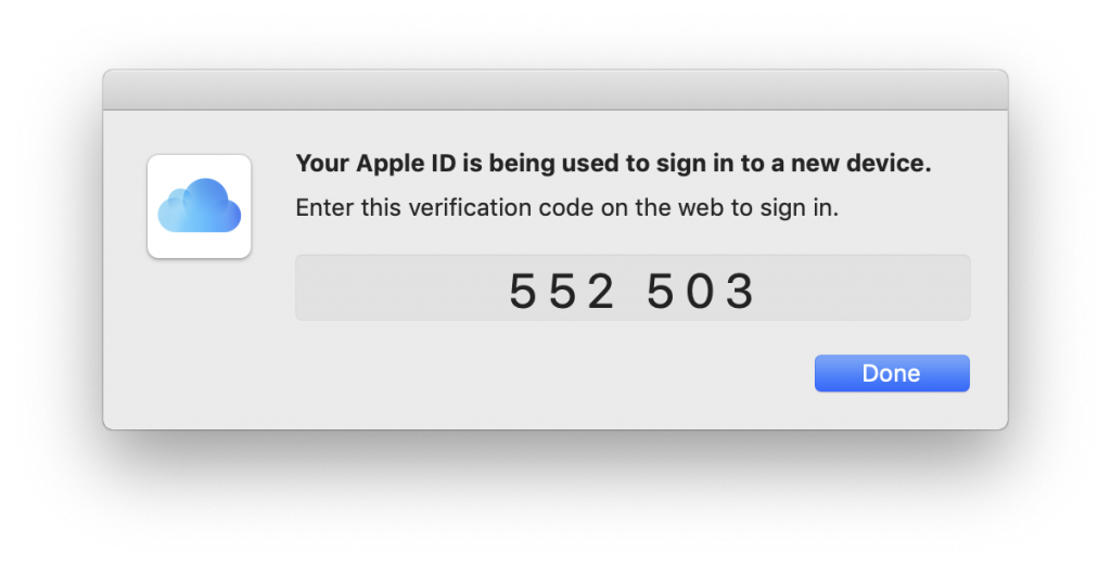 Apple Verification Code New Device