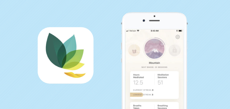 Take a Breather with Oak, the App to Help You De-Stress