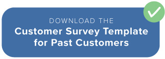 Survey for past customers