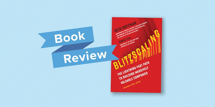 blitzscaling book review