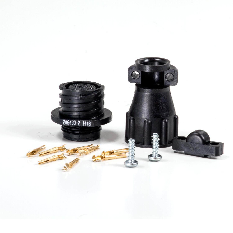 AMP Series II 8-Terminal RvsSx Receptacle Kit (Female Pins)