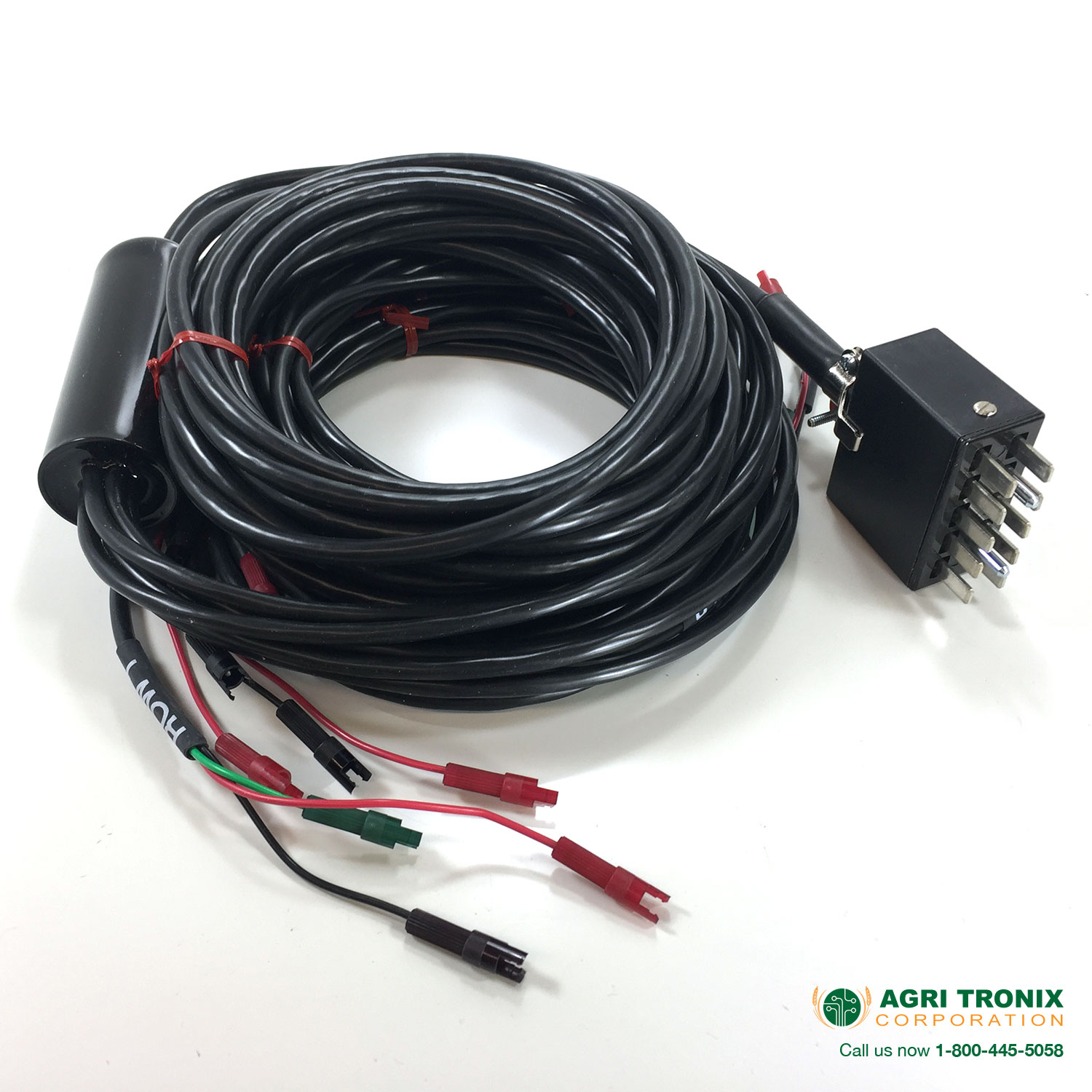 4 Row Harness, 10-pin Jones with 3 wire amp seed sensor connectors  Wire Harness Connector on 3 wire wiring harness, 3 wire power connector, 3 pin connector, 3 hose connector, screw terminal connector, 3 terminal connector, 6 pin wire connector,