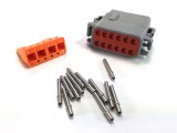 "Deutsch 12-Terminal DTM Plug Kit - ""A"" Keyway"