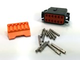 "Deutsch 12-Terminal DTM Plug Kit - ""B"" Keyway"