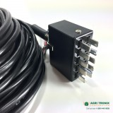 8 Row Harness, 10-pin Jones with 3 wire amp seed sensor connectors