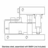 BM8H hardware: stainless shear beam mount