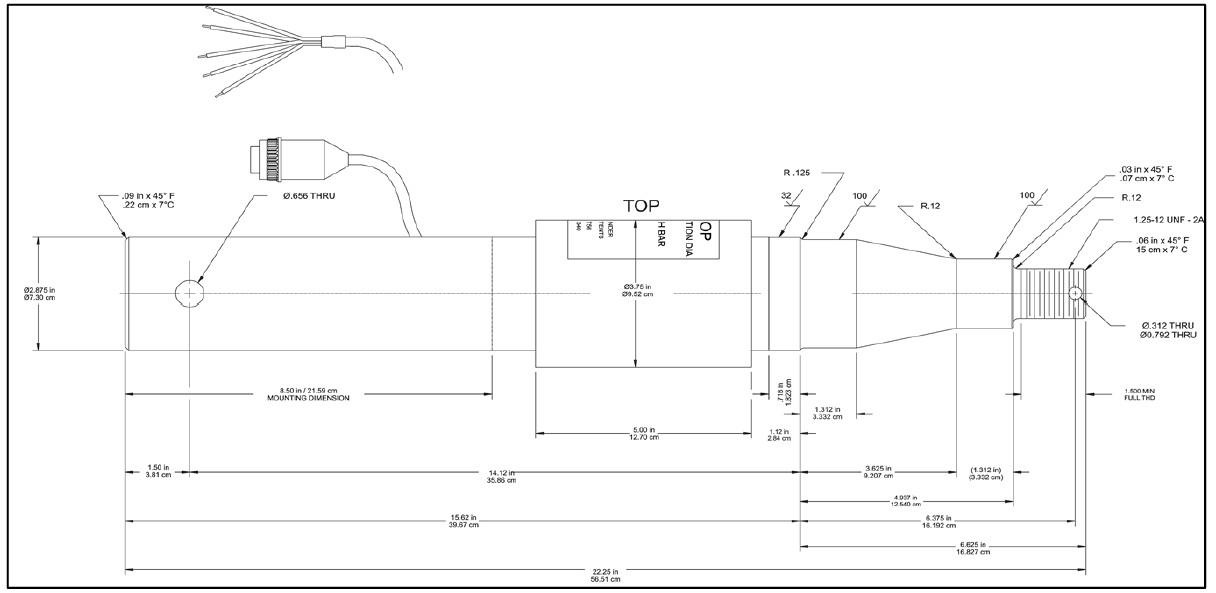 Weigh Tronix 2 875 Axle Bar 21960 0046