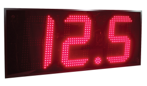 18-Inch 3-Digit LED sign for MPH
