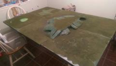 4x6 ft Fantisy Base WarGaming Table