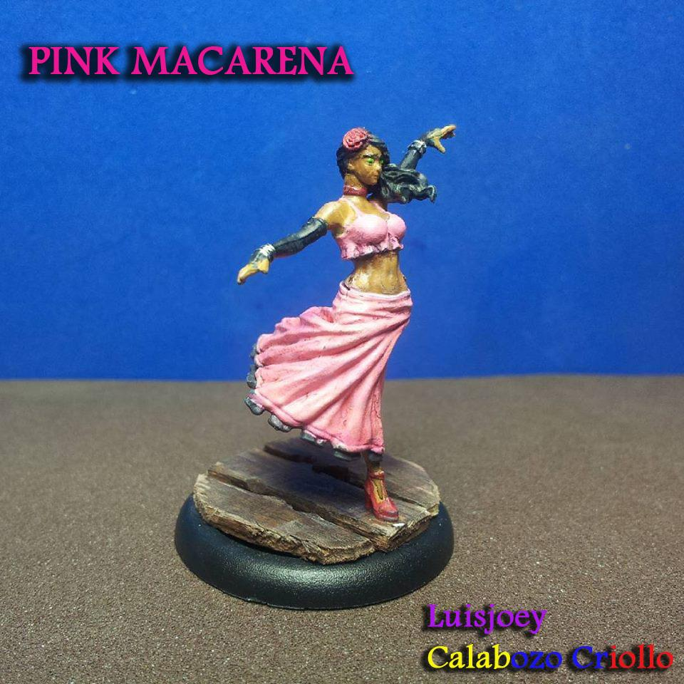 Pretty in Pink MACARENA