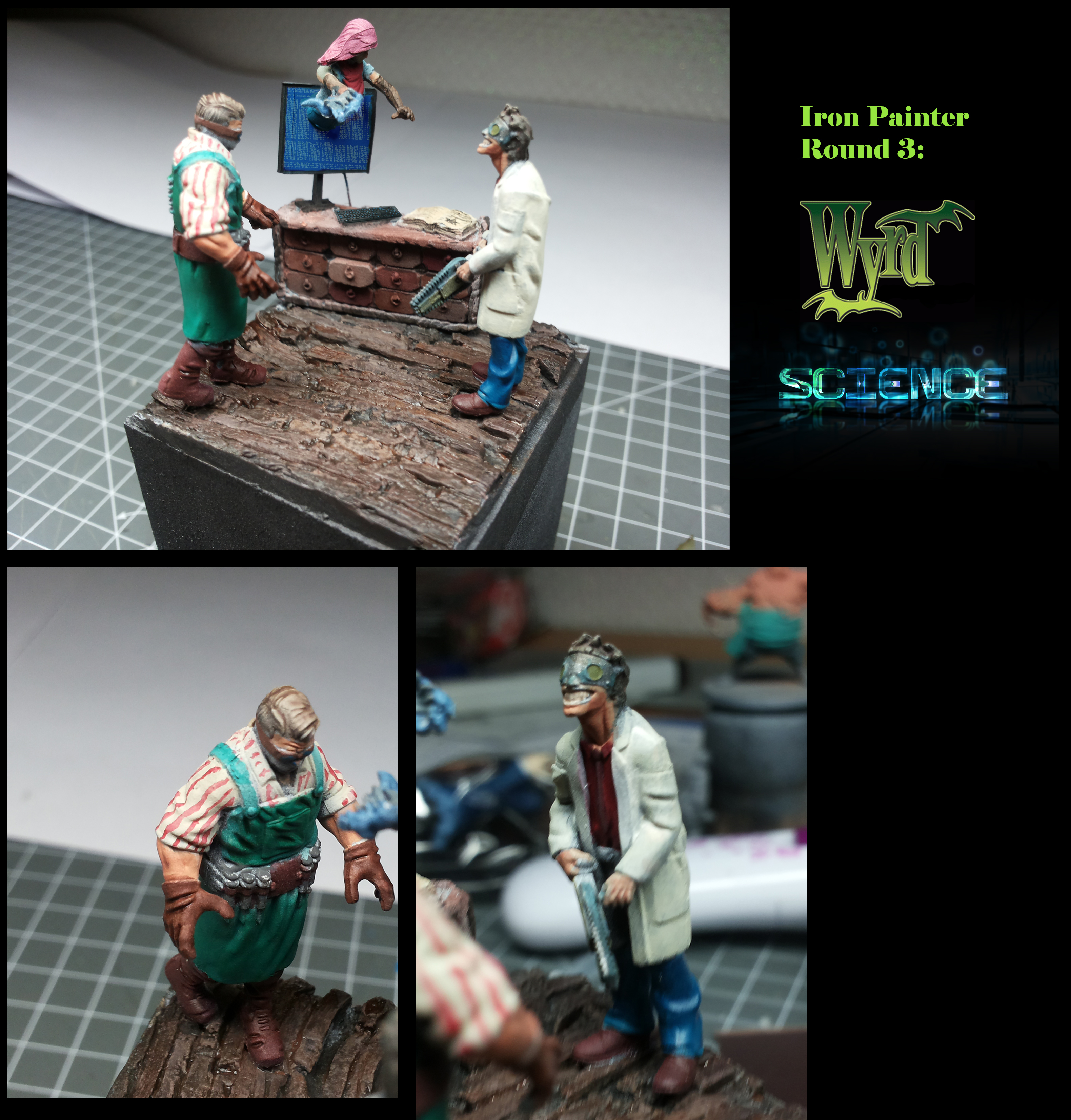 Iron Painter Round 3: Wyrd Science