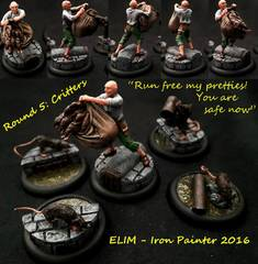Iron Painter 2016, Round 5 Critters - ELIM