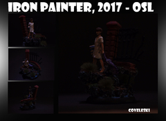 "Iron Painter 2017 - OSL - ""The Dreamer"""