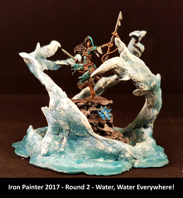 Iron Painter 2017 Round2 Water, Water ,Everywhere!