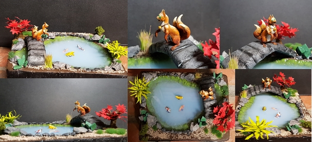 Iron Painter Round 2 Bronze - Kamaitachi's Pond by Dragonkey