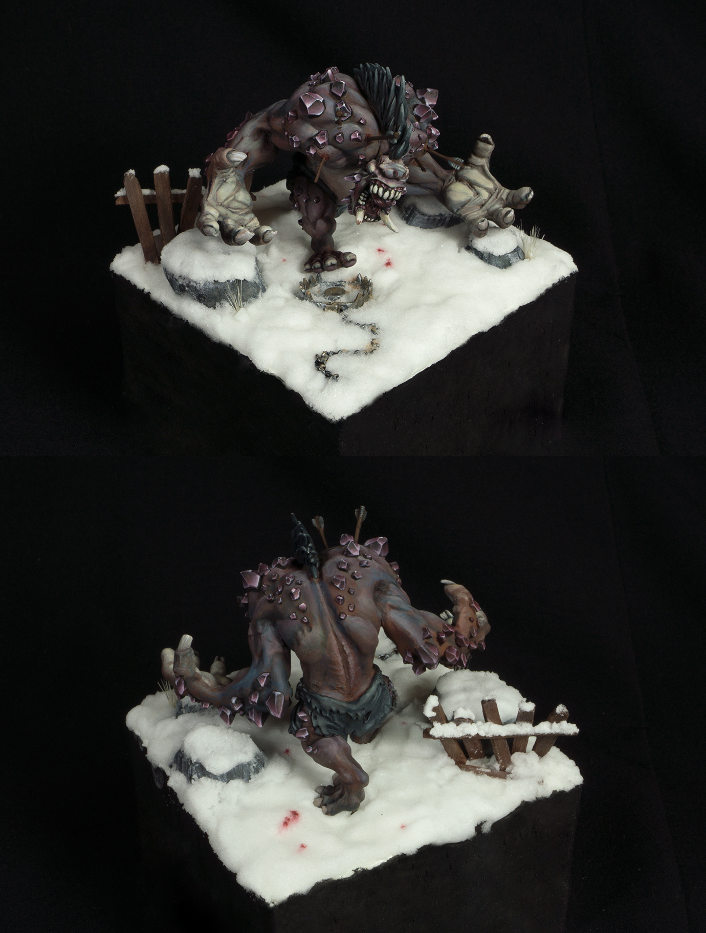 Frost troll of northern darkness