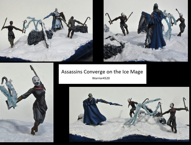 Assassins Converge on the Ice Mage