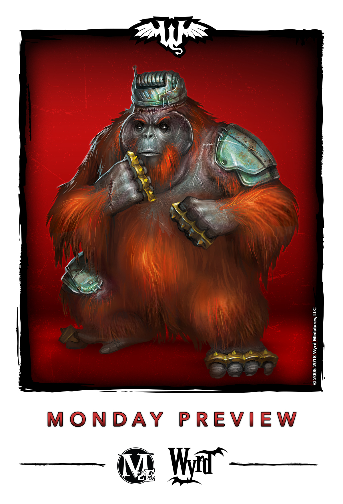 Mystery Monkey Mischief - Malifaux Discussion - Wyrd Forums