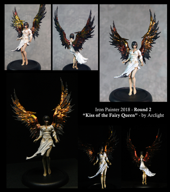 Iron Painter 2018 Round 2 - Kiss of the Fairy Queen - by Arclight
