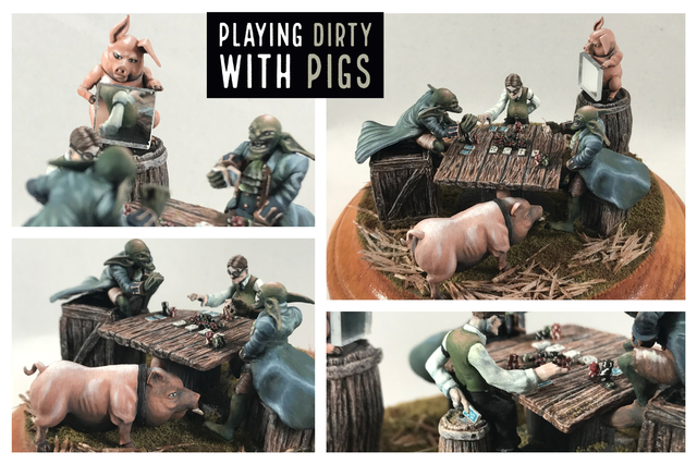 Playing Dirty with Pigs