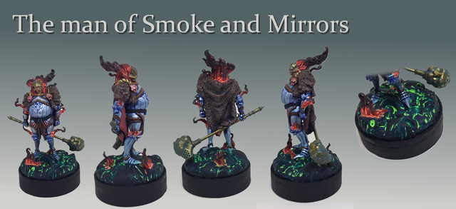 The man of Smoke and Mirrors