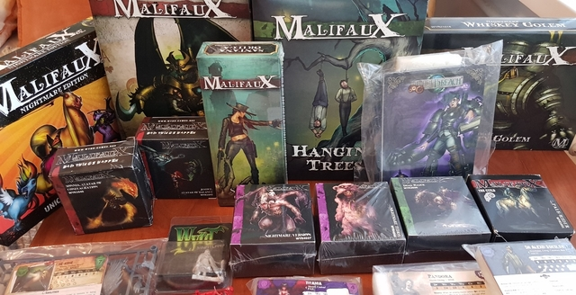 24.02.2020 Old malifaux and limited ed. models